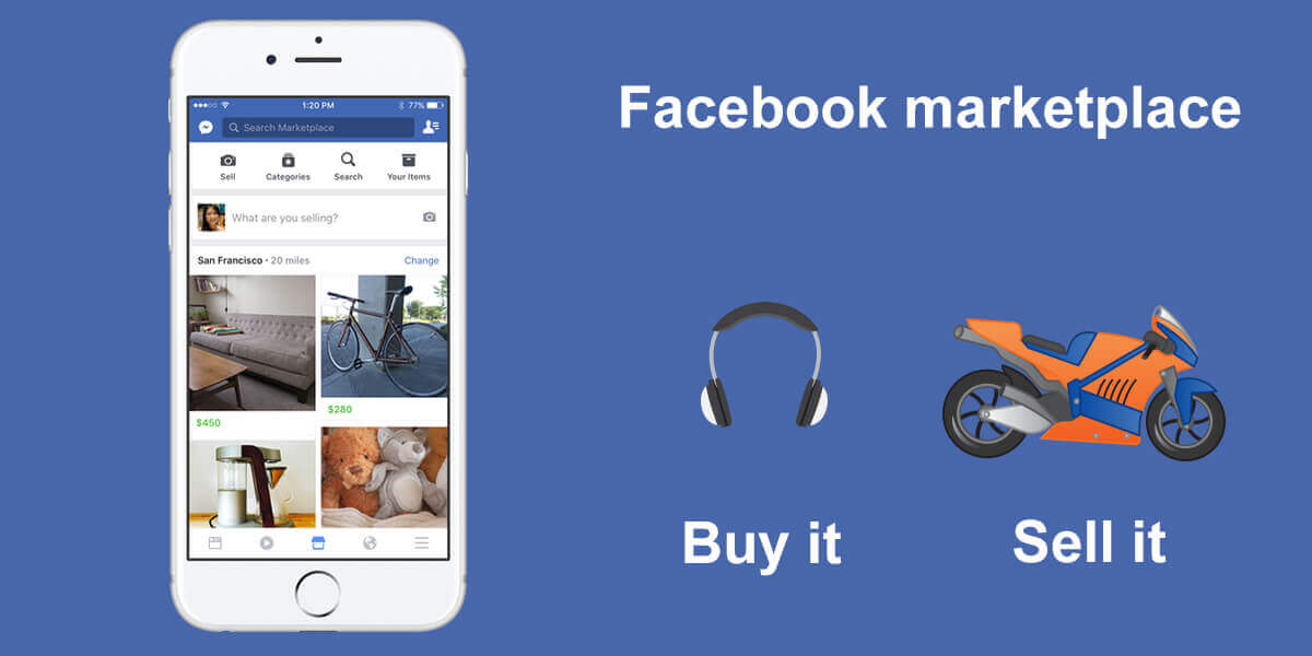 facebook connects buyers and sellers tests marketplace platform. Black Bedroom Furniture Sets. Home Design Ideas
