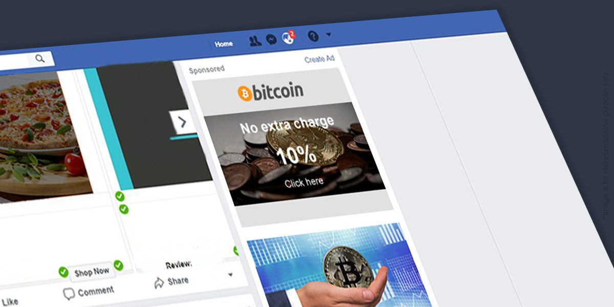 Facebook bans cryptocurrency advertising