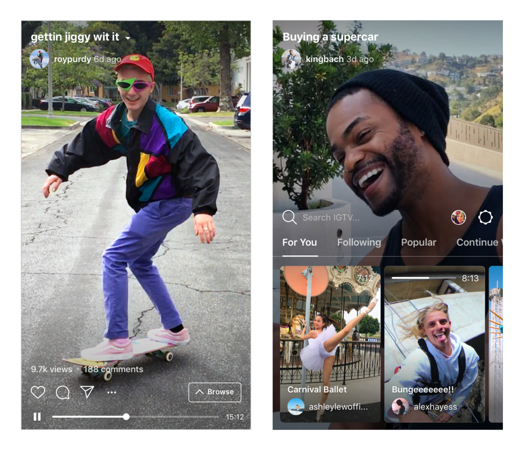 Instagram launches short and long form video platform IGTV