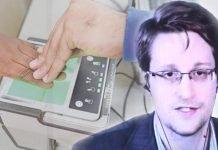 Edward Snowden Aadhaar