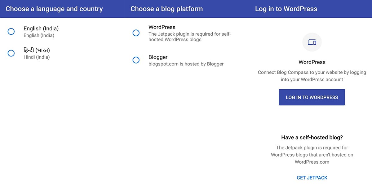 Google launches full stack site management app 'Blog Compass