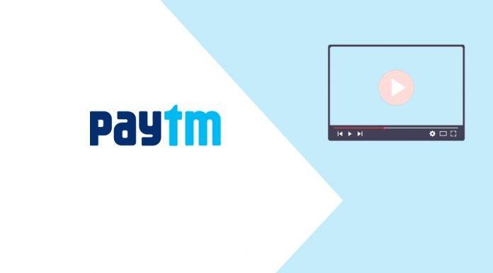 Paytm online streaming